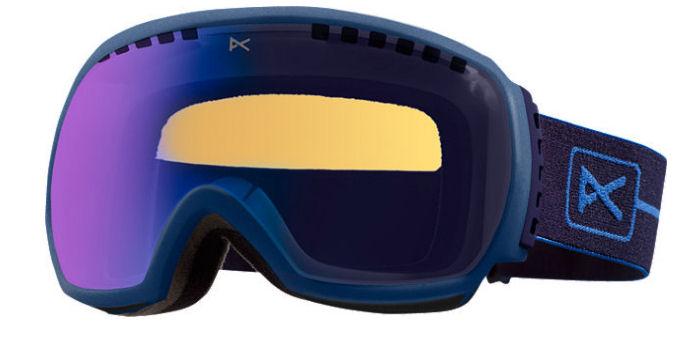 Anon Comrade Goggles Metallic Blue & Blue Solex