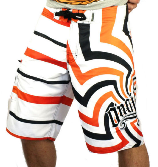 ONeill PM Kevin Geo Board Shorts White