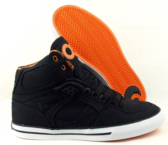 Osiris NYC 83 Vulc Shoes Black Orange