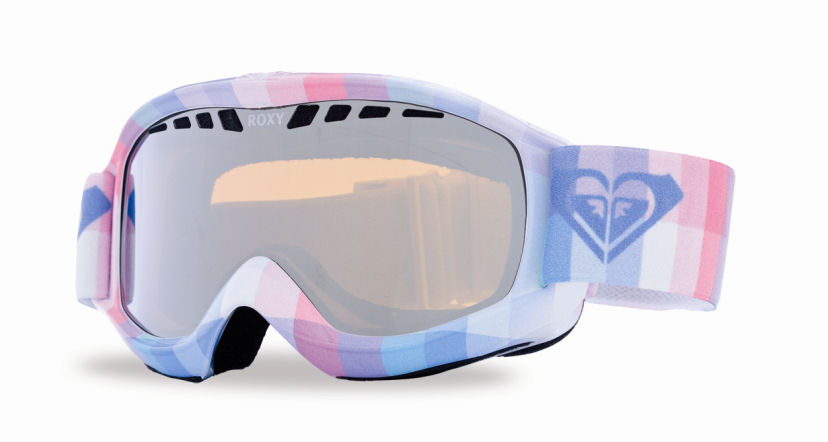 Roxy Broadway Art Series Goggles Orange Chrome