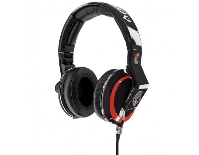 Skullcandy Mix Master Throwback NBA Heat Headphones