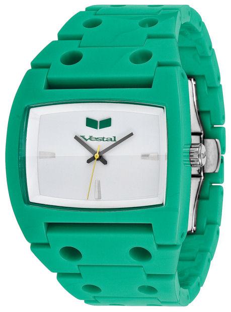 Vestal Plastic Destroyer Watch Green White